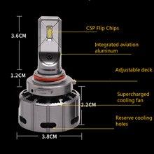 Aes 2pcs h1 h4 Автомобильные фары лампы 5500k светодиодный 9005