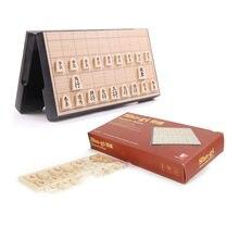 Japão shogi 25*25*2cm jogo de xadrez magnético mesa de xadrez dobrável internacional verificador sho-gi inteligência jogo como brinquedo de presente