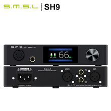 AMPLIFICADOR DE AURICULARES SMSL SH-9 THX AAA, ganancia conmutable de 2 posiciones, entrada RCA/XLR, salida equilibrada 6,35 para sistema de escritorio SH9