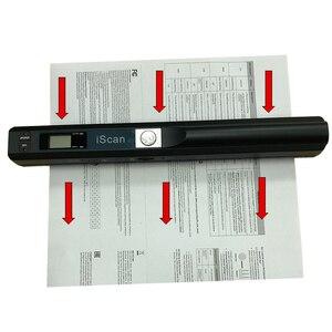 Image 2 - IScan escáner Portátil de Documentos para móvil, 900DPI, USB 2,0, pantalla LCD, compatible con selección de formato JPG/PDF