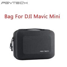 PGYTECH housse de transport sac de rangement pour DJI Mavic Mini paquet Portable en NYLON EVA boîte Drone accessoires