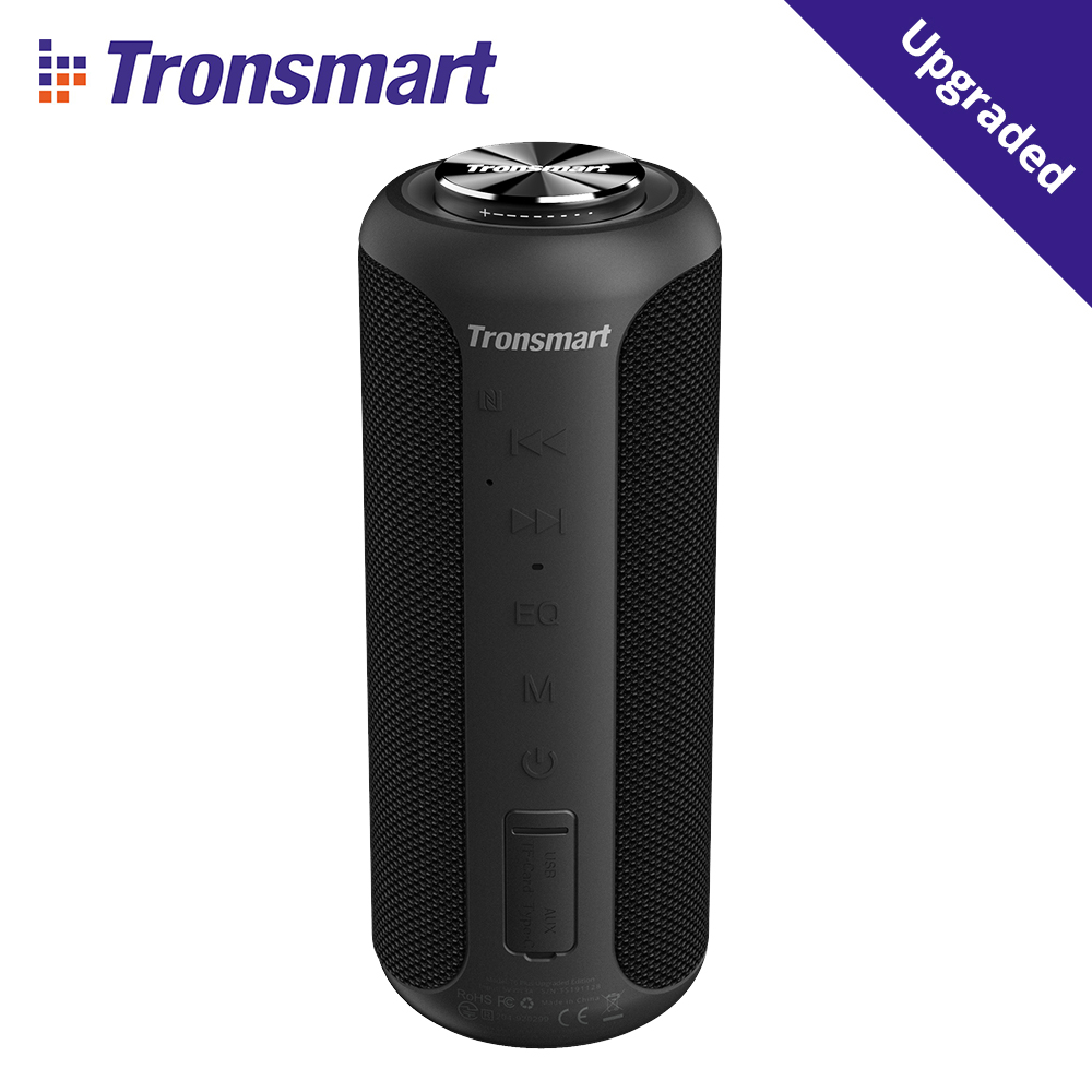 Tronsmart T6 Plus Upgrade Edition Bluetooth 5,0 NFC Tragbare Lautsprecher Bis zu 40W Power, 360 ° Surround Sound, IPX6 Wasserdicht