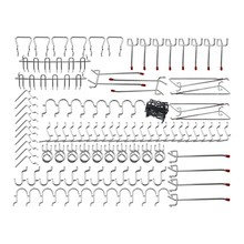 Pegboard Hooks Assortment - 102Pcs Peg Hook Organization(China)