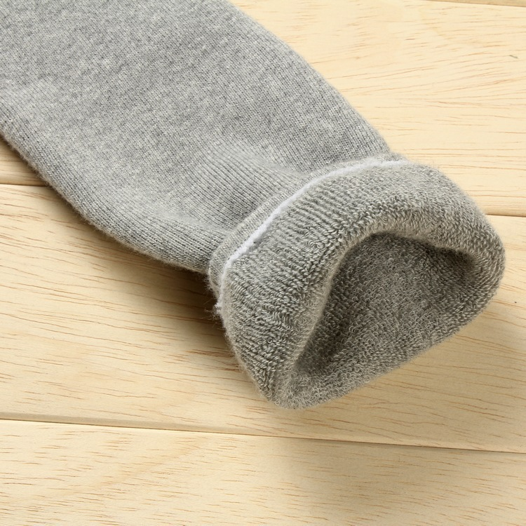 Autumn And Winter Thickening Lengthen Kneecap Combed Cotton Looped Pile Warm Foot Sock Support Hosiery Old Cold Legs Cold Crus S