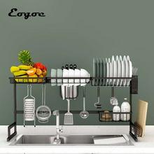 Eogoe товары для кухонный Органайзер хранилище стойка над раковиной