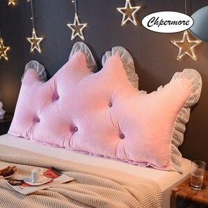 Image 2 - Chpermore 다기능 fallei 크라운 긴 베개 간단한 침대 쿠션 침대 부드러운 현대 단순 침대 베개 잠자는