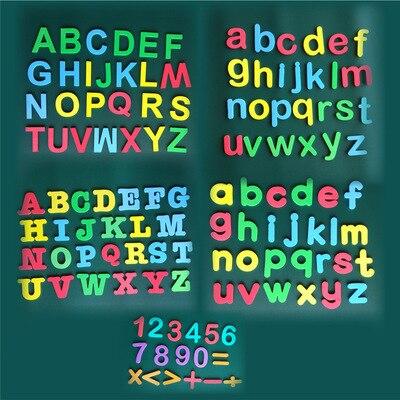 letras magneticas digito alfabeto eva ima macio