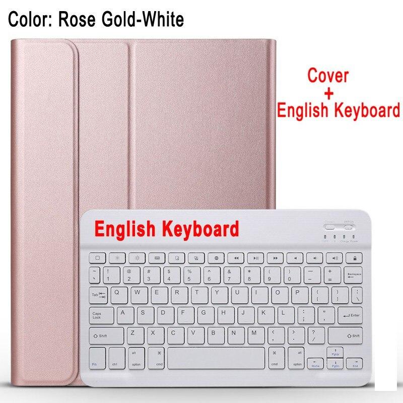 English Keyboard Blue Case Keyboard For Apple iPad 10 2 2019 7 7th 8th Gen Generation A2197 A2200 A2198