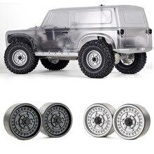 """Para grc 1.9 """"metal beadlock rodas hubs g06 para 1/10 traxxas trx4 redcat gen8 mst rc rastreador roda de carro jantes peças acessórios"""