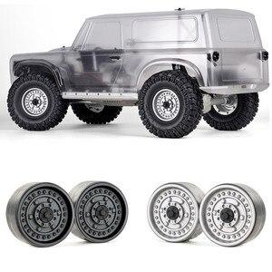 "Image 1 - for GRC 1.9"" Metal Beadlock Wheels Hubs G06 for 1/10 Traxxas TRX4 RedCat GEN8 MST RC Crawler Car Wheel Rims Parts Accessories"