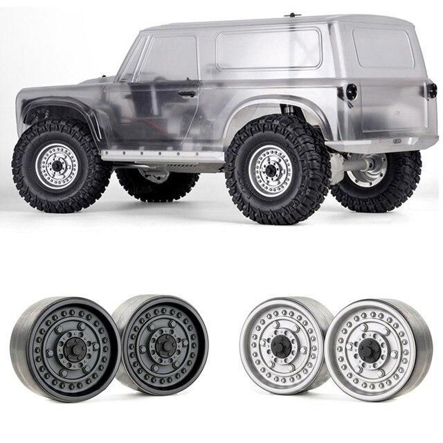 "for GRC 1.9"" Metal Beadlock Wheels Hubs G06 for 1/10 Traxxas TRX4 RedCat GEN8 MST RC Crawler Car Wheel Rims Parts Accessories"
