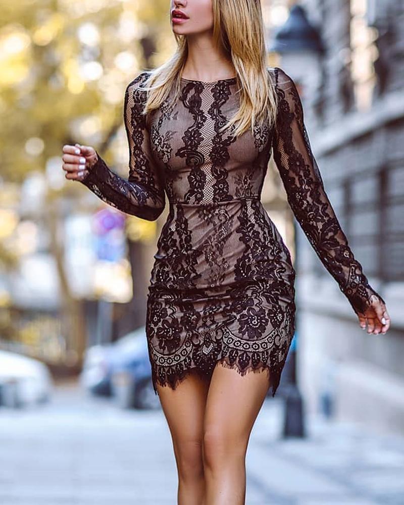 Robe De soirée en dentelle sexy