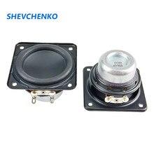 Haut-parleur pleine fréquence, 2 pouces, 48mm, 4ohm, 15W, néodyme, bobine vocale à 20 cœurs, bord en caoutchouc, réparation de pilotes Audio, 2 pièces
