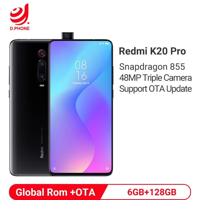 Global Rom Xiaomi Redmi K20 Pro 6GB 128GB Smartphone Snapdragon 855 Octa Core 6.39