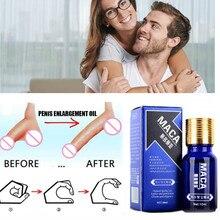 10ML Penis Enlargement Oil Enhancers Bigger Cream Care Penis Enlarge Oil Growth Pills Viagar Male Maca Thickening Erection Pills