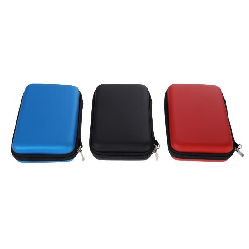 Жесткий Чехол-сумка из кожи EVA для Nintendo 3DS XL LL с ремешком