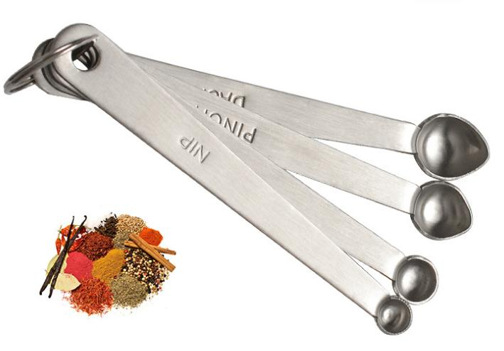Measuring Spoons Dash Pinch Smidgen Nip Dash - Kitchen Tools & Gadgets