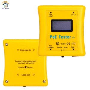 Image 2 - Testeur PoE paquet de détecteur PoE de poche testeur de tension et de courant PoE en ligne détecteur PoE pour installation de vidéosurveillance