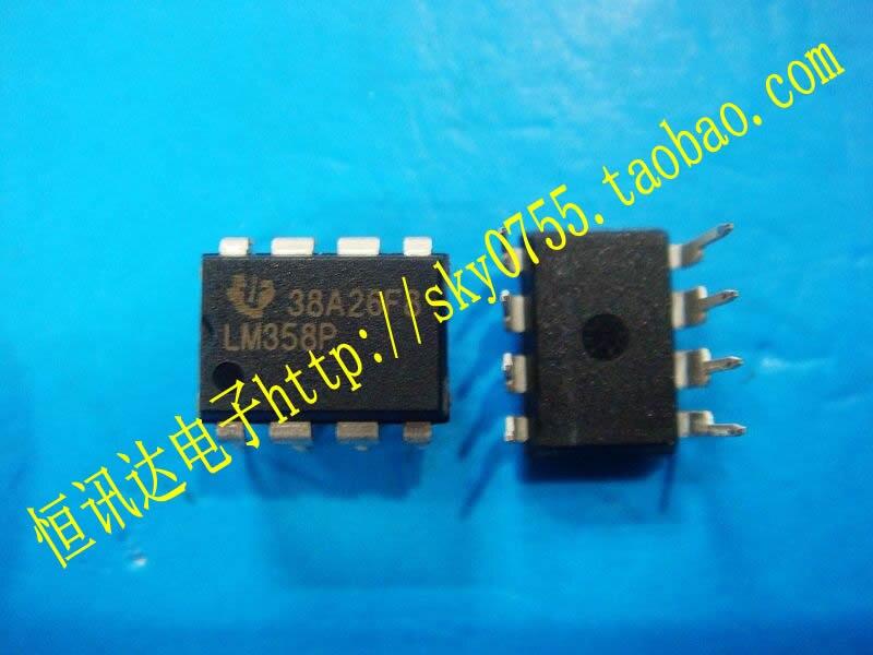 10 шт. LM358P TI DIP-8