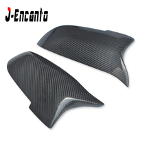M5 Style For BMW 5 6 7 series F10 F12 F01 F18 520li 2013-2016 Carbon Fiber Rear Side View Mirror Cover