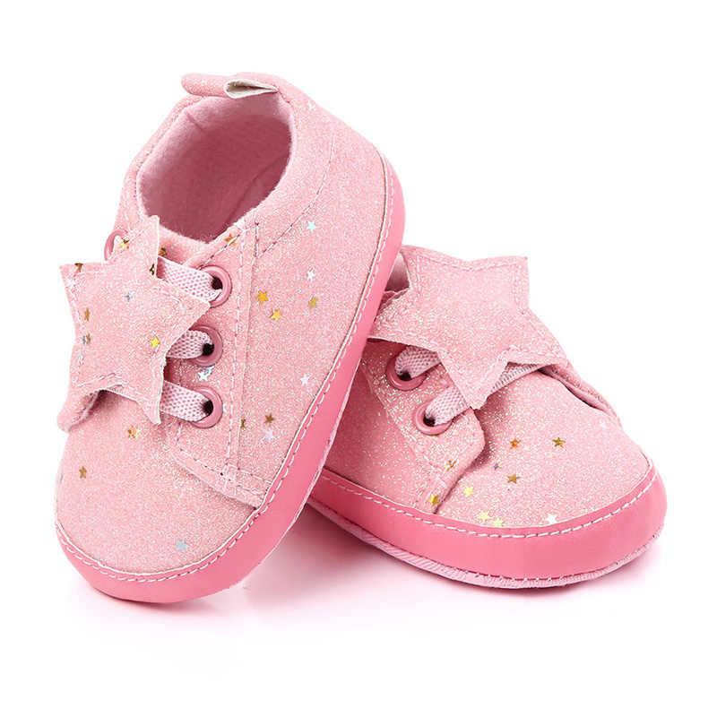 Buty dziewczęce dla dzieci 0-18M miękka bawełniana podeszwa przeciwpoślizgowe noworodka Pre Walker buty dziecięce buty maluch dziecko mokasyny Zapatos Bebe F99
