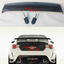 car-styling G Style Carbon Fiber Rear Trunk Spoiler Wing For Toyota GT86 Subaru BRZ Scion FR-S spoiler for toyota gt86 subaru brz carbon fiber big gt spoiler wing auto car trunk with brackets high quality good price