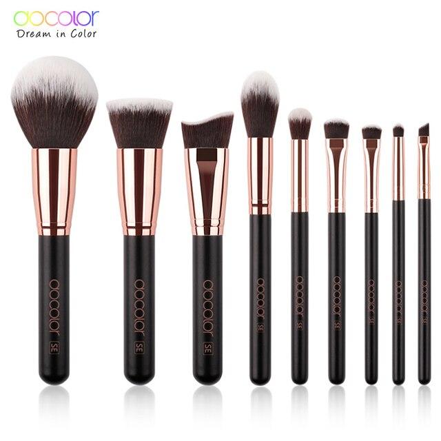Docolor Makeup Brushes Set Profesional Powder Foundation Blush Blending Eye shadow Make Up Brush Cosmetics Beauty Tools