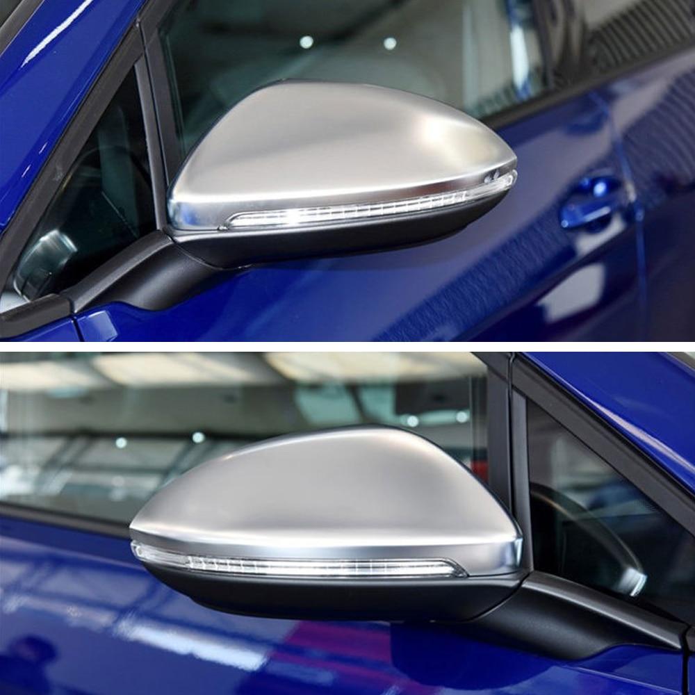 For Vw Golf 7 Mk7 7 5 Gtd R Gti Mk6 6 Polo 6r 6c Scirocco Passat B7 Jetta Beetle Side Wing Mirror Cover Caps E Golf Mirror Covers Aliexpress