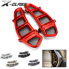 Motorcycle Radiator Guard Side Cover Protector Guard CNC Aluminum Accessories for Vespa GTS 250 300 2013   2017 2018 2019 2020