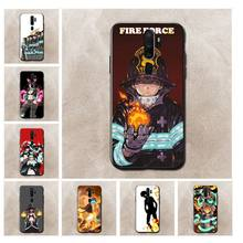 fire force Customer High Quality Phone Case for oppo a59 a73 a71 ax5s a73s Realme 3 2pro 5 case(China)