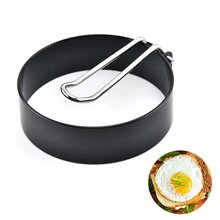 Фото - Round metal egg fryer High temperature resistance Fried Muffin Shaped eggs Home kitchen cooking tools 17cm 230v 45w for ebmpapst w2s130 ab03 24 all metal high temperature resistance fan