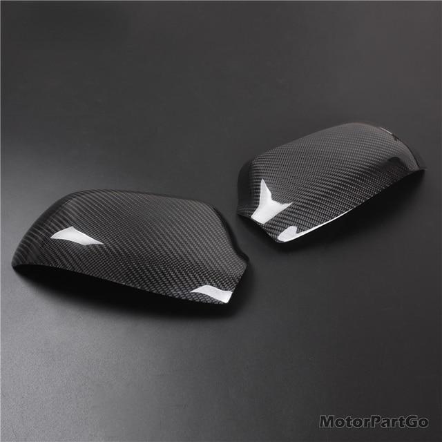 Real Crabon Fiber Mirror Cover Exchange original 1 pair for  Old Mazda 3  M3 2003-2012  T245M 2
