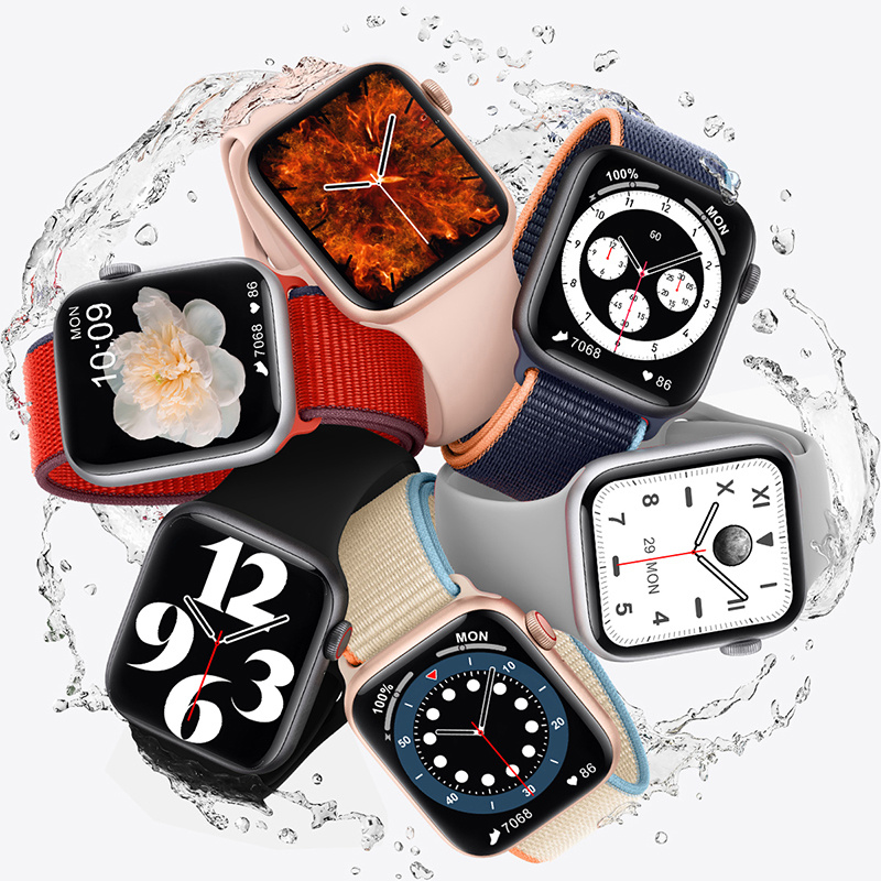 Bluetooth Call Smart Watch Men 1.75 Inch HD Full Screen Dynamic Dial IWO 13 Pro DT100 Smartwatch For Apple Watch Supports Phone 3