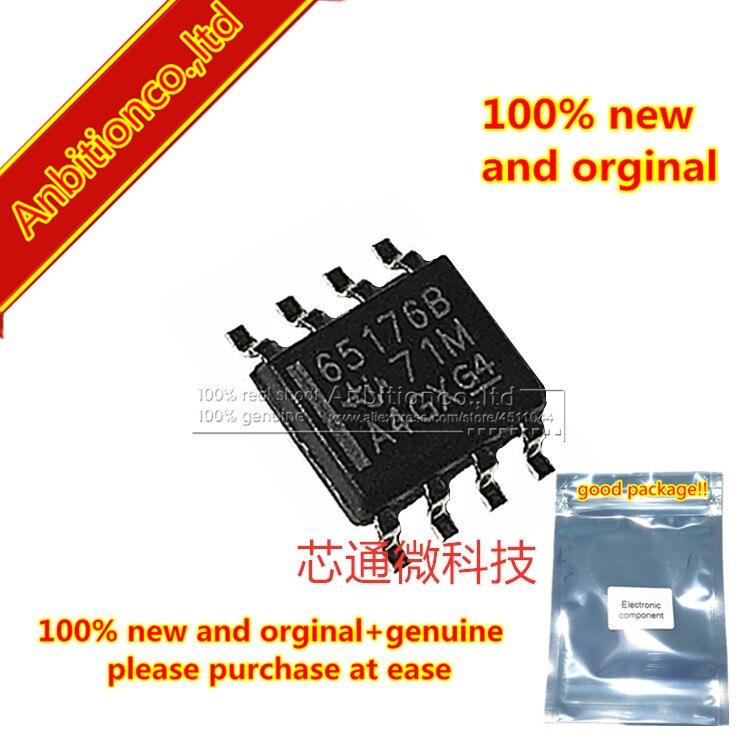 10pcs  100% New And Orginal SN65176BDR Silk-screen 65176B SOP-8  In Stock