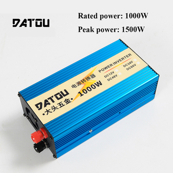 цена на 1500W Modified Sine Wave Voltage Converter Car Power Inverter 24V to 220V  Charge Watt Rated 1000W Portable Inverter For Car