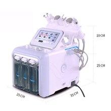6 ב 1 מים חמצן hydrafacial מכונת טיפוח עור עמוק ניקוי פילינג הידרו Dermabrasion מים סילון חמצן מכונה