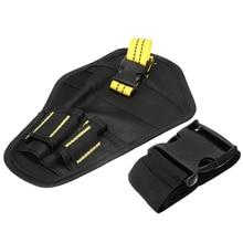 Portable Drill Tool Belt Pouch Bit Holder Hanging Waist Bag Drill Tool Storage Bags Drill Holder Waist Tool Bag Waist Belt цена и фото