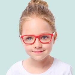 Гибкие детские оптические очки гибкие цельные безопасные очки простые зеркальные силиконовые анти-голубые легкие очки оправа для очков