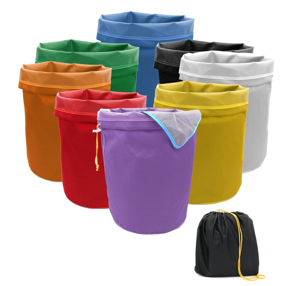 1-Gallon 5-Gallon Herbal Ice Bubble Hash Bag Essence Extractor Kit Filtration Bags/Set with Free Pressing Screen and Storage Bag