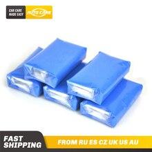 自動ケア 5pcs100gマジック車のトラックのクリーンクレイバー自動クリーナー洗車機ブルー