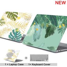 2019 new Laptop Case For Apple MacBook Air Pro Retina 11 12 13 15 for mac book Pro 13.3 15.4 inch with Touch Bar + Keyboard cove