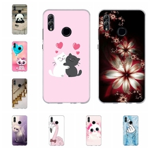 For Huawei Honor 6A 8X Case Soft TPU Silicone For Huawei Honor 9 Lite Cover Flowers Patterned For Huawei Honor 10 10 Lite Capa for huawei honor 6a 8x case soft tpu silicone for huawei honor 9 lite cover panda patterned for huawei honor 10 10 lite bumper