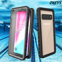 IP68 Water Proof Phone Case For Samsung Galaxy S10 5G Waterproof Full Protect Underwater Diving Snow Protection Coque