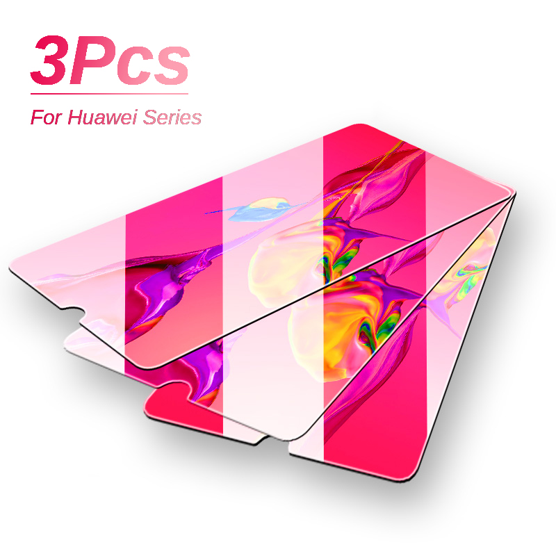 Glass On For Huawei P20 Pro P30 Lite Screen Protector Film For Huawei P Smart Z Y9 Prime 2019 Protective Glass Huawey P30 Light