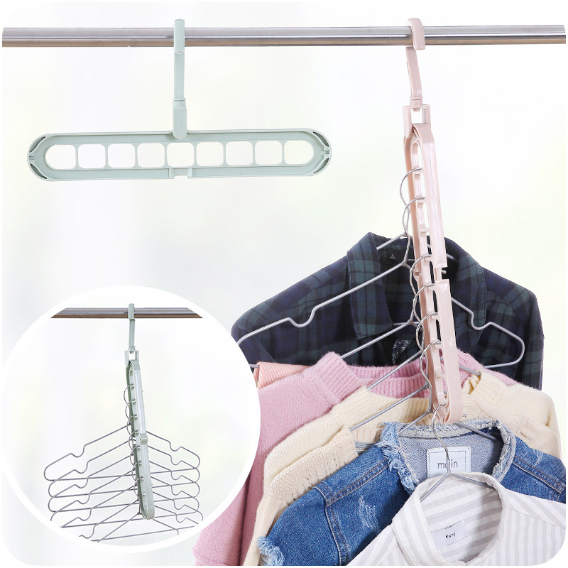Clothes Hanger Drying Rack Plastic Scarf Clothes Hangers Storage Racks Wardrobe Storage Hangers