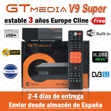 GTmedia V9 super DVB S2 recettore digitale 4k recettore digitale h.265 1080p Full HD de Youtube PVR wifi PowerVu