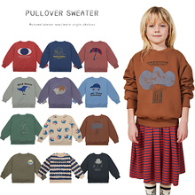 kids clothes fall 2020  boys sweaters winter clothes for girls sweater kids sweaters Long sleeve O-neck pullover cute sweater