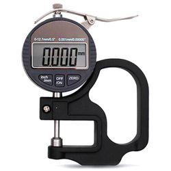 TOP 0.001mm elektroniczny miernik grubości 10mm cyfrowy mikrometr miernik grubości Micrometro tester grubości w Mierniki ultradźwiękowe od Narzędzia na