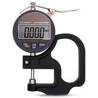 Verificador eletrônico da espessura do micrômetro do medidor de espessura do micrômetro de digitas do calibre 10mm superior da espessura de 0.001mm|Instrumentos de medição de largura| |  -