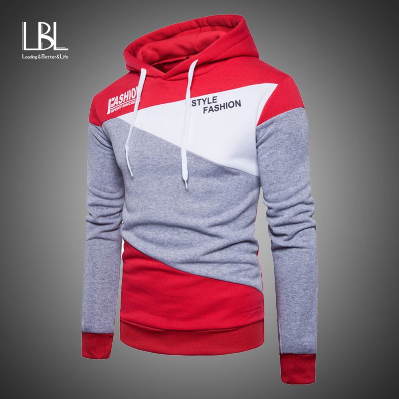 Fashion Brand Mens Hoodies 2019 Spring Autumn Male Casual Hoodies Hooded Sweatshirts Men's Hoodies Sweatshirt Tops Tracksuits